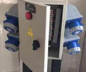 Tủ điện cấp nguồn thi công gọn